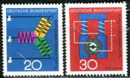 BRD - Mi 521 / 522 - ** Postfrisch (B) - 20-30Pf                     Technik Und Wissenschaft II - Ungebraucht
