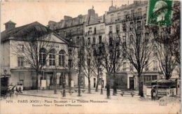75 PARIS - Place Dancourt - Le Théâtre Montmartre - Distretto: 18