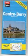 Carte Routière  CENTRE-BERRY   éd  BLAY-FOLDEX   ...............à Saisir - Cartes Routières