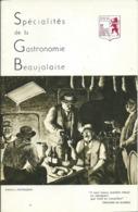 Livret: Spécialités De La Gastronomie Beaujolaise, UIVB VILLEFRANCHE (69) - Werbung