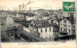 75 PARIS - L'Hôpital Saint Joseph Rue Didot - Arrondissement: 14