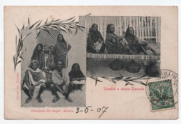 ERYTHREE - UOMINI E DONNE DANCALE - CACHET De ASMARA (ERITREA) 1907 - Erythrée