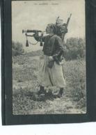 """Théme-Militaria-Les ZOUAVES-*Beau Portrait D' Un ZOUAVE """" Avec Son Equipement De Campagne Jouant Du CLAIRON - Regiments"""