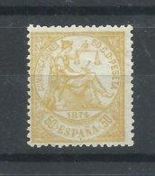ESPAÑA   EDIFIL  149   ( FIRMADO SR. CAJAL , MIEMBRO DE IFSDA )   MH  * - 1873 1. Republik
