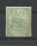 ESPAÑA   EDIFIL  150   ( FIRMADO SR. CAJAL , MIEMBRO DE IFSDA )   MH  * - 1873 1. Republik