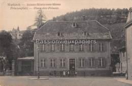 SAINTE MARIE AUX MINES  1918 PLACE DES PRINCES VILLA LEBACH - Sainte-Marie-aux-Mines