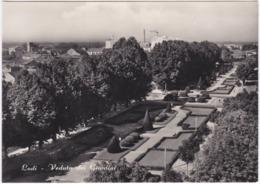 Gf. LODI. Veduta Dei Giardini - Lodi