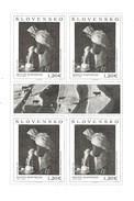 2013 Slovakia  Art Paintings   Miniature Sheet Of 4  @ 75% Face Value - Blocks & Kleinbögen