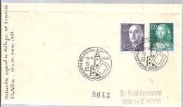 POSTMARKET  ESPAÑA 1963  MALAGA - Faros
