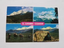 Ecuador, El Cayambe ( Gelaufen, Ca. 1977); H32 - Ecuador