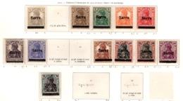 Ex Colonie Française  * Sarre *   Saargebiet  *  Poste  1/15 N* - 1920-35 Società Delle Nazioni