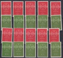 Europa Cept 1959 Netherlands 2v (10x) ** Mnh (44931) - 1959