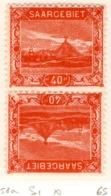 Ex Colonie Française  * Sarre *   Saargebiet  *  Poste  58a  N* Signé - 1920-35 Société Des Nations