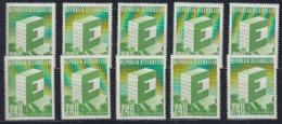 Europa Cept 1959 Austria 1v (10x) ** Mnh (44933) - 1959