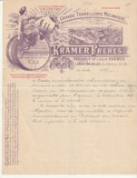 Laeken Rue Mellery 40-48 Bruxelles - Tonnellerie Kramer Freres - Foudres Cuves Futs A Pression Pour Brasseries - Belgique
