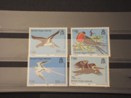 VIRGIN - 1980 UCCELLI 4  VALORI - NUOVI(++) - British Virgin Islands