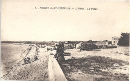 CPSM Pointe De Mousterlin L'Hôtel La Plage - Andere Gemeenten