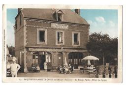 /80/ SAINT QUENTIN LAMOTTE CROIX AU BAILLY LE TEMPS PERDU HOTEL DES SPORTS - France