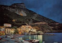 Cartolina Maratea Porto Lido Notturno - Potenza