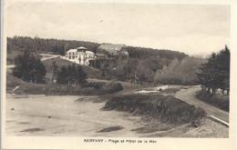 CPSM Kerfany Plage Et Hôtel De La Mer - France