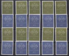 Europa Cept 1959 Germany 2v (10x) ** Mnh (44935) - 1959