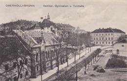 Hollabrunn (Oberhollabrunn) * Seminar, Gymnasium, Turnhalle, Schule * Österreich * AK1527 - Hollabrunn