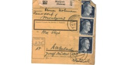 Colis Postal  / De Montpreis / 12-12-42 - Deutschland