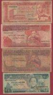 Ethiopie 8 Billets Dans L 'état (1 Er Billet 10 Dollars  TRES RARE) - Etiopía