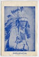 CARTOLINA MELENCIA INDIANI D'AMERICA - Indiani Dell'America Del Nord