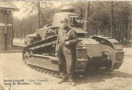 Armée Belge - Bourg-Léopold - Char D'assaut - Materiale