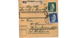 Colis Postal  / De Oberndorf / Pour Waldheim  / 28-12-42 - Deutschland