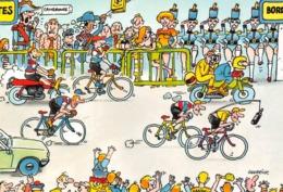 Cyclisme - BANANIA - Tour De France 1984 - 9e Etape Nantes/Bordeaux - Illustrateur Daniel Guerrier - Wielrennen