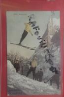 Cp Grenoble Skisprung Couleur N 3638 - Grenoble