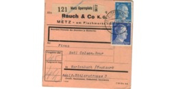 Colis Postal  / De Metz Opernplatz / 12-6-43 - Germania