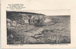 CPSM Hôtel Raguenes-plage Par Nevez Grotte De Tremorvezen - Andere Gemeenten