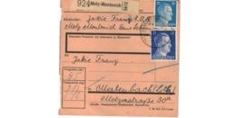 Colis Postal  / De Metz Montenich - Deutschland