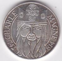 100 Francs CHARLEMAGNE 1990 . Argent. - Francia