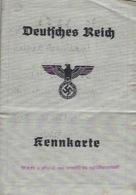 2ème Guerre Mondiale Deutsches Reich Metz Pièce D'identité Avril 1944 - Documentos Antiguos