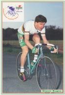 537 - CARTOLINA - CICLISMO - GIANNI BUGNO - CICLISTA CAMPIONE ANNI 80/90 - Ciclismo