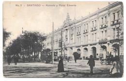 Chile - SANTIAGO - Alameda Y Portal Edwards - Ed. Gallardo Hnos. No. 3 - Chile