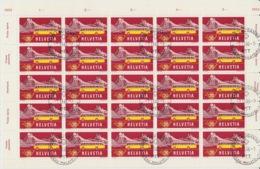 Feuille Du N° Z.315, Mi. 587 /  Oblitération De Luxe. Valeur Faciale 5,00 CHF Obli. 7.11.1966 - Used Stamps