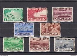 Cuba Nº 221 Al 228 - Cuba