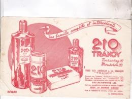 BUVARD PARFUMS 210 TRANOY A TOURCOIN Et MOUSERON - Parfum & Kosmetik