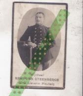 Remi Van Steenberge-De Brucker, Geboren Letterhautem 1890, Overleden Aan Den Yzer 1915. Soldaat 12 Linieregement - Esquela