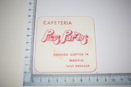 Cafeteria Pic Of Pardos Donoso Cortes 14 Tel: 4496069 Madrid - Beer Mats