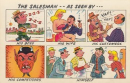 SALESMAN As Seen BY... , 50-60s - Humour