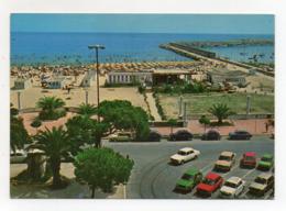 Giulianova (Teramo) - La Spiaggia E Il Porto - Auto Dell'Epoca - Viaggiata - (FDC17765) - Teramo