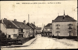 Cp Mirebeau Sur Bèze Côte D'Or, Le Pont De La Bèze - Autres Communes