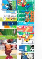 24 Télécartes Coupe Du Monde Football FRANCE 98 - France