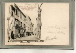 CPA - RIBEAUVILLé (68) RAPPOLTSWEILER - Carte Gruss De 1900 - Restaurant à L'Etoile De G. Schweyer - Ribeauvillé